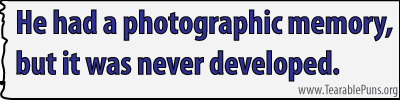 Hehadaphotographicmemory
