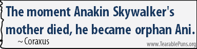 ThemomentAnakinSkywalker'smotherdied